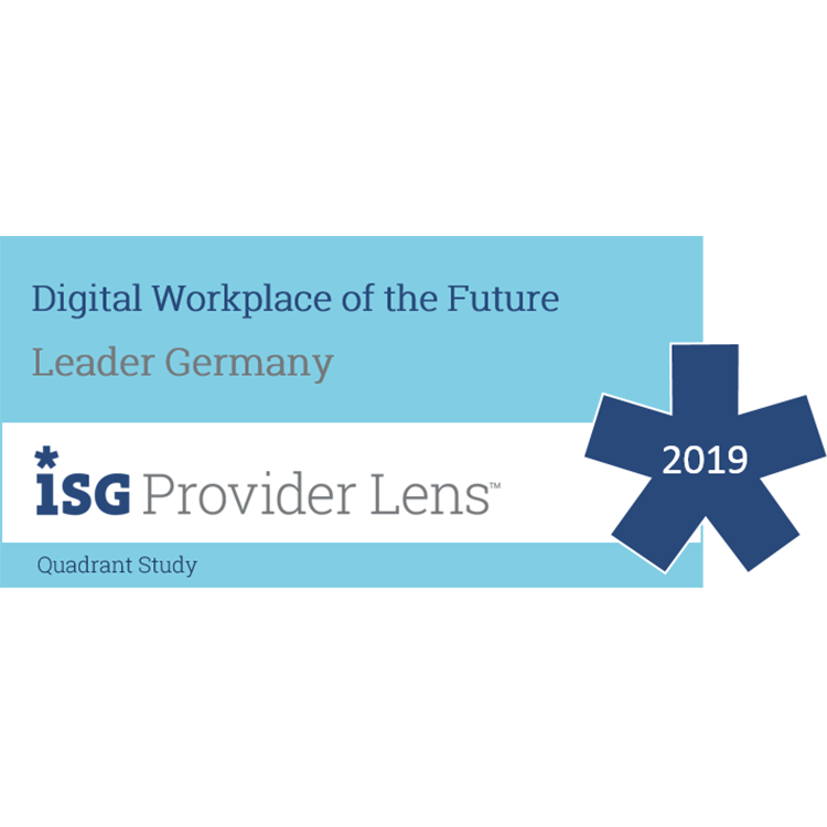Wyróżnienia baramundi software AG ISG Digital Workplace of the Future 2018