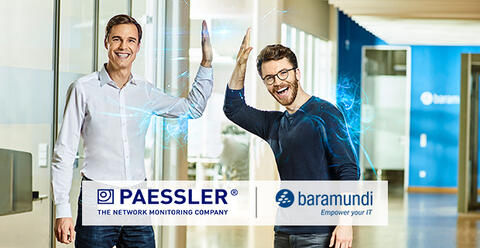 [Translate to english:] PRTG Network Monitor und baramundi